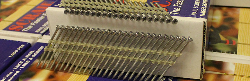 Scrail - the Faster Fastener TM